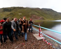 Presidente Humala inauguró en Ayacucho presa que beneficiará a más de 22000 personas