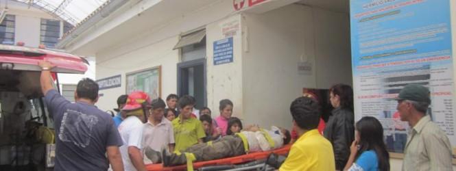 Huancavelica: Camioneta de gobierno regional atropella y mata a niño