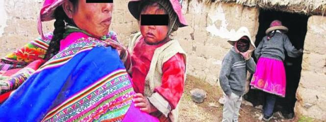 Huancavelica esta entre las 8 regiones más pobres del país