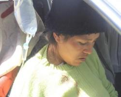 Herida en TitayPunco esperó 6 horas para ser evacuada a hospital.!