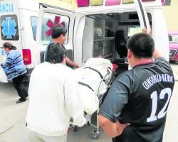 Paro cardiaco casi mata a comisario de Colcabamba.!