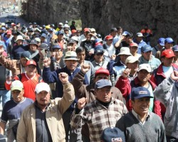La Oroya: Trabajadores de Doe Run anuncian paro de 48 horas.!!