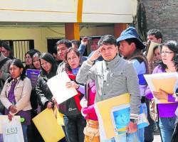 140 plazas menos de serums a Huancavelica.!!