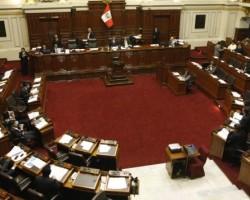 Congreso aprobó prohibir la reelección inmediata de presidentes regionales y alcaldes.!!
