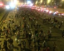 Régimen laboral juvenil: Marcha acabó en enfrentamientos con la Policía.!!
