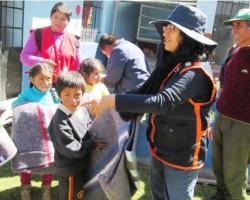 Heladas dejan en dos provincias de Huancavelica 365 afectados y 50 viviendas afectadas.!!