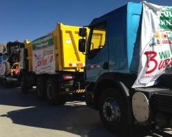 Tayacaja: Municipalidad de Colcabamba adquiere pool de maquinarias por mas de 4 millones de soles.!!
