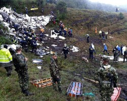 Chapecoense: Se estrelló el avión que transportaba al equipo completo en las cercanías de Medellín.!!