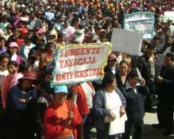 """Universidad Nacional Autónoma de Tayacaja """"Daniel Hernández Morillo"""" será una realidad.!!"""