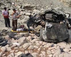 Huancavelica: Alcalde y cinco personas más mueren en accidente en carretera Ayacucho – Huancayo.!!