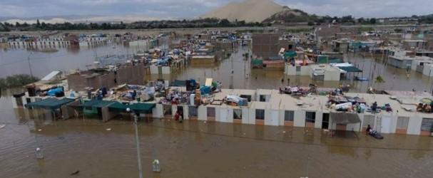 Oficializan declaración del estado de emergencia en Ica por huaicos e inundaciones.!!