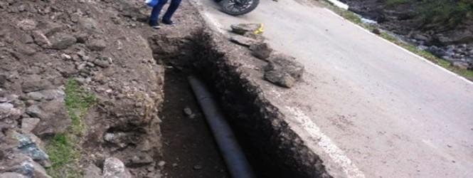 Huancavelica: LLuvias deja 14 distritos y 11 centros poblados con sistema de agua colapsados.!!