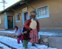 Senamhi anuncia ola de frío y presencia de nevadas en la sierra del país.!!