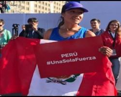 Peruana Inés Melchor gana Maratón de Santiago de Chile.!!