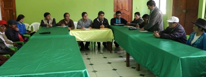 Minsa y Diresa realizaron mesa de trabajo para mejorar los servicios de salud en Tintay Puncu.!!
