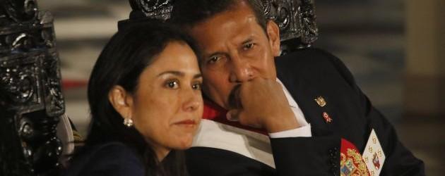Juez ordenó 18 meses de prisión preventiva para Ollanta Humala y Nadine Heredia.!!