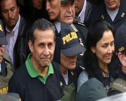 Ollanta Humala y Nadine Heredia ya están en la Diroes y al penal de mujeres de Chorrillos.!!