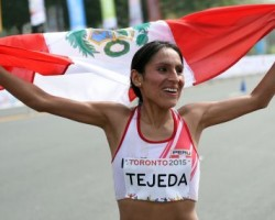 Gladys Tejeda ganó la tradicional Maratón de México y rompe el dominio africano.!!