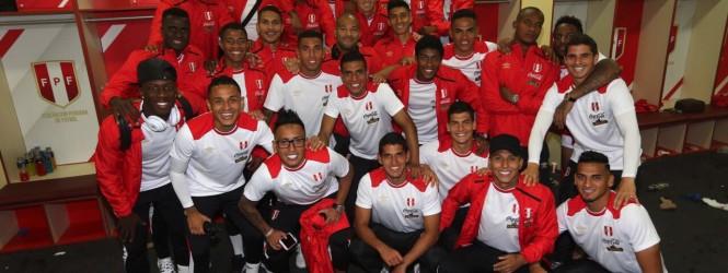 Perú le ganó a Bolivia y dejó esta imagen de celebración para los gratos recuerdos.!!