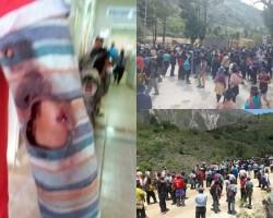 Paro Agrario en Tayacaja deja heridos en enfrentamientos con efectivos.!!