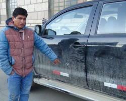 Asaltan vehículo de candidato a alcaldía de Surcubamba – Tayacaja.!!