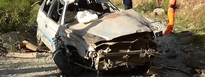 Tayacaja: Auto se despista en Paltarumi dejando 6 muertos y un herido en carretera a Salcabamba.!!