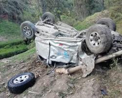 Tayacaja: Camioneta cae al abismo dejando dos muertos en La Colpa Daniel Hernandez.!!