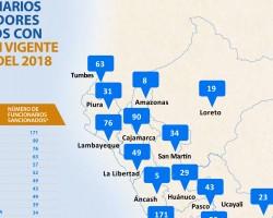 Contraloría revela que suspendió o inhabilitó a 34 funcionarios y servidores en Huancavelica para trabajar en el Estado.!!