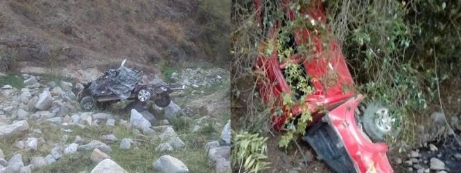 Huancavelica: Feriado sangriento dejo accidente de transito en Churcampa y Castrovirreyna.!!