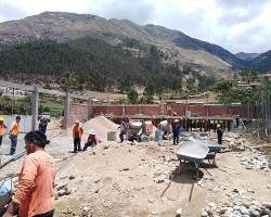 Contraloría advierte riesgos en ejecución de obra de mini coliseo multifuncional en Colcabamba.!!