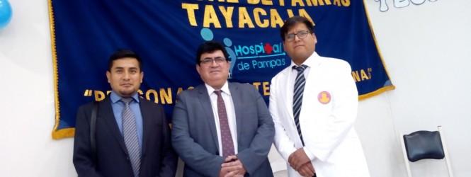Nuevos directores asumen Red de Salud Tayacaja y Hospital de Pampas.!!