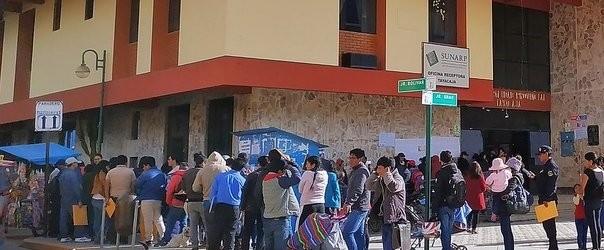 42 personas atendían en comuna de Tayacaja sin tener vinculo laboral.!!