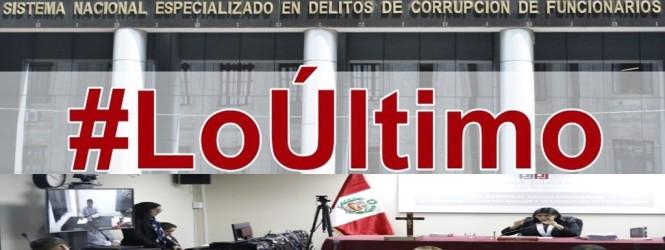 Odebrecht: Poder Judicial condena a Álvarez a 8 años de cárcel.!!