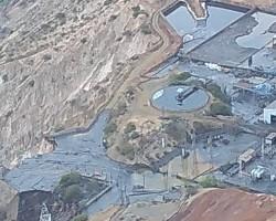 OEFA supervisa derrame de relave al río Mantaro en Cobriza.!!