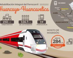 El futuro sobre rieles: Ferrocarril Huancayo-Huancavelica dinamizará el potencial turístico y comercial.!!