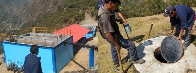 Falta de uso de Planta de Tratamiento de Aguas Residuales genera riesgo de contaminación en Tintay Puncu.!!